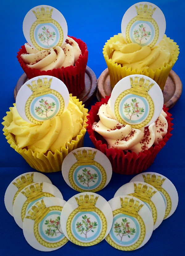 Royal Navy cake toppers  - HMS Campbeltown